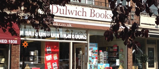 A New Look for Dulwich Books – Refurbishment 15th – 22nd August