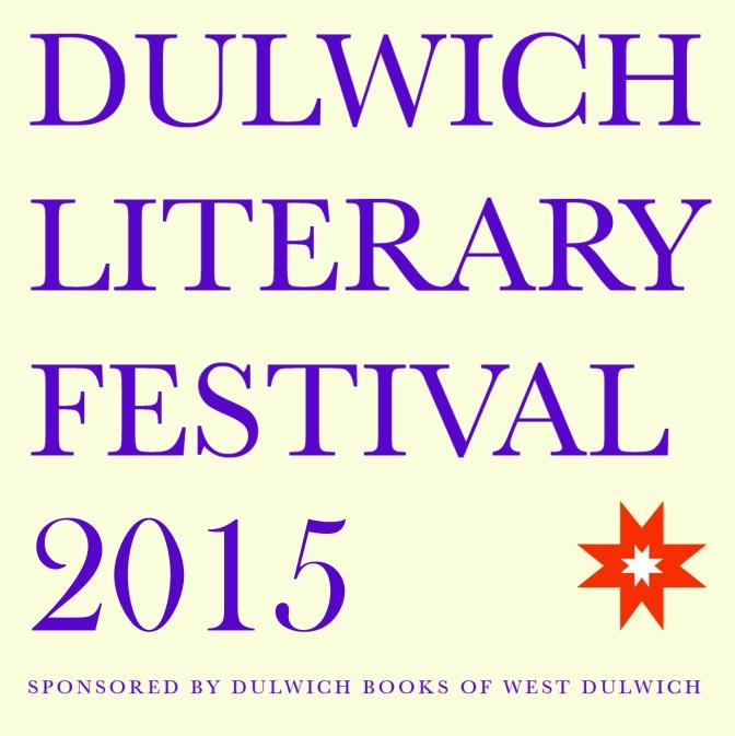 Dulwich Literary Festival 2015